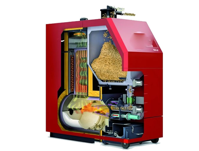 biomasa caldera